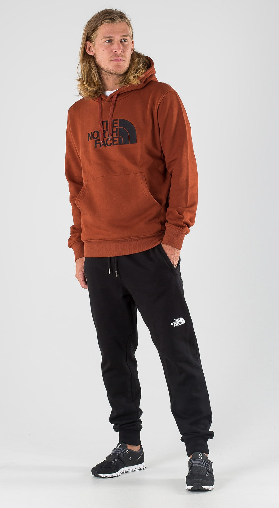 The North Face Drew Peak Brandy Brown/Tnf Black Outfit Multi