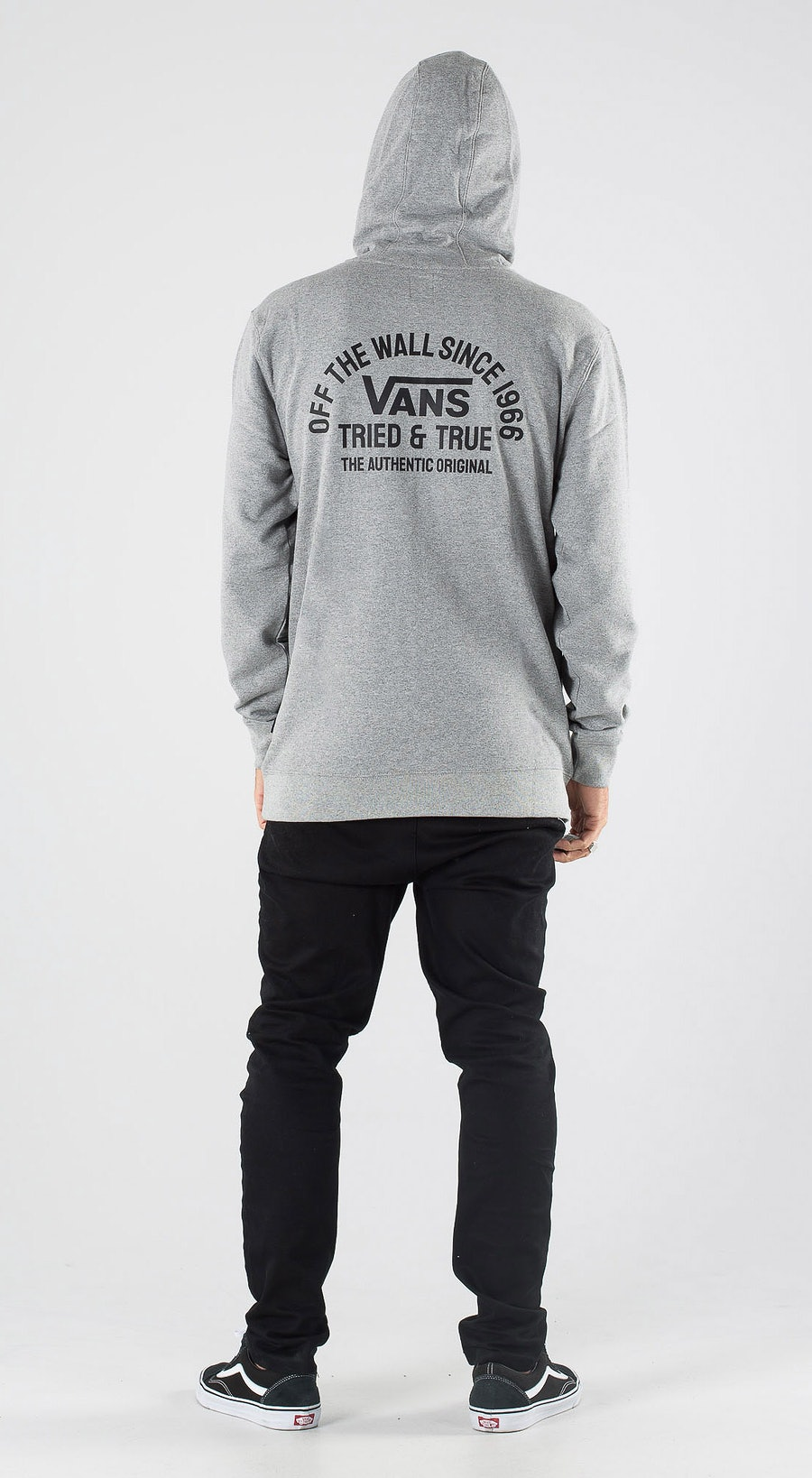Vans Authentic OG Po Cement Heather Outfit Multi