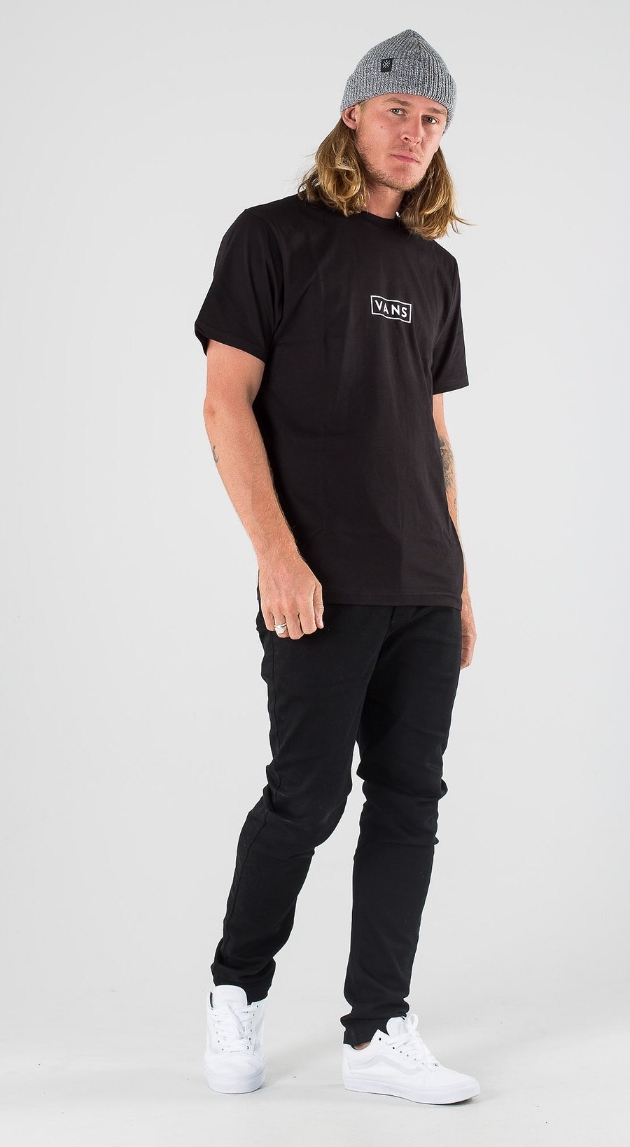 Vans Easy Box Black/White Outfit Multi