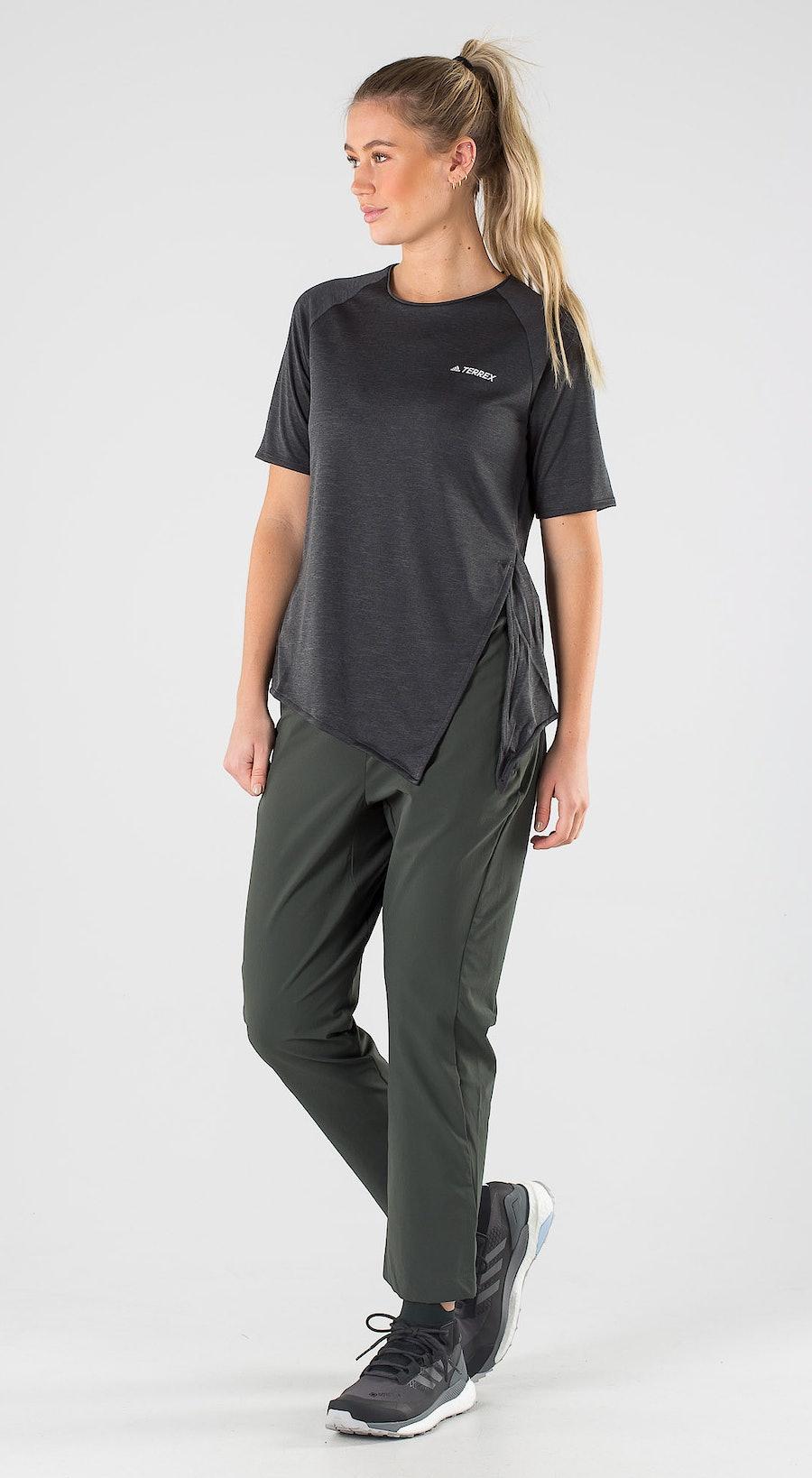 Adidas Terrex Hike Black Outfit Multi