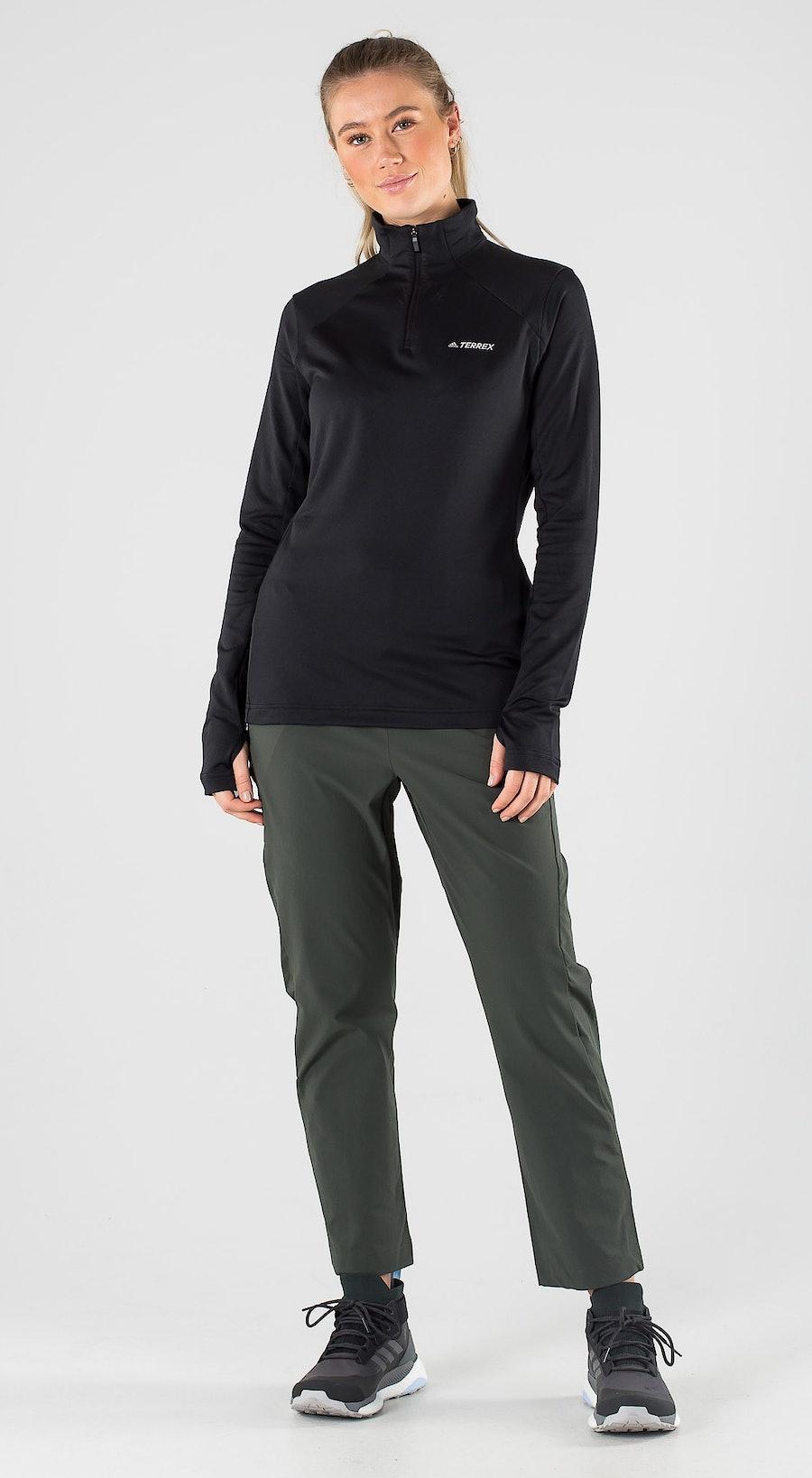 Adidas Terrex EveryH 1/2 Zip Black Outfit Multi