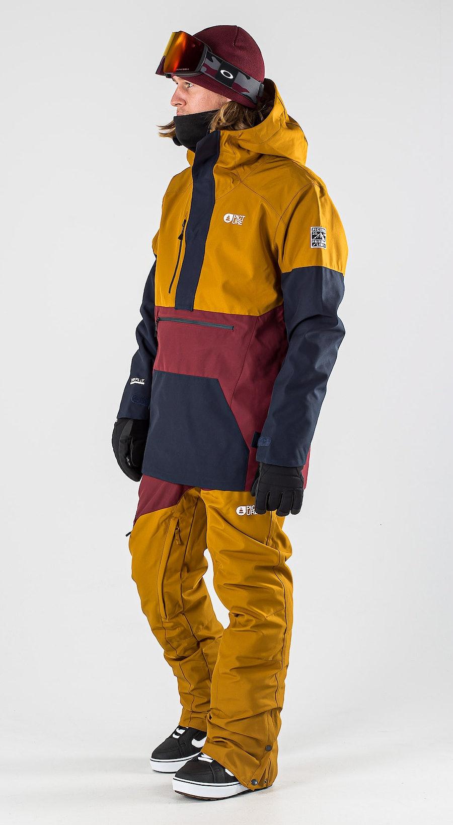 Picture Trifid Camel Dark Blue Vêtements de Snowboard  Multi