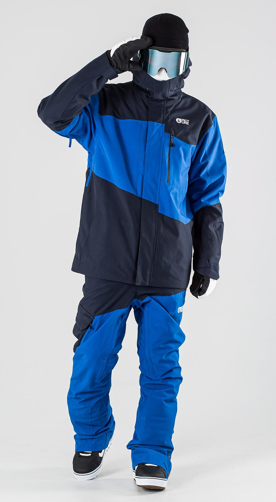 Picture Styler Blue Dark Blue Vêtements de Snowboard  Multi