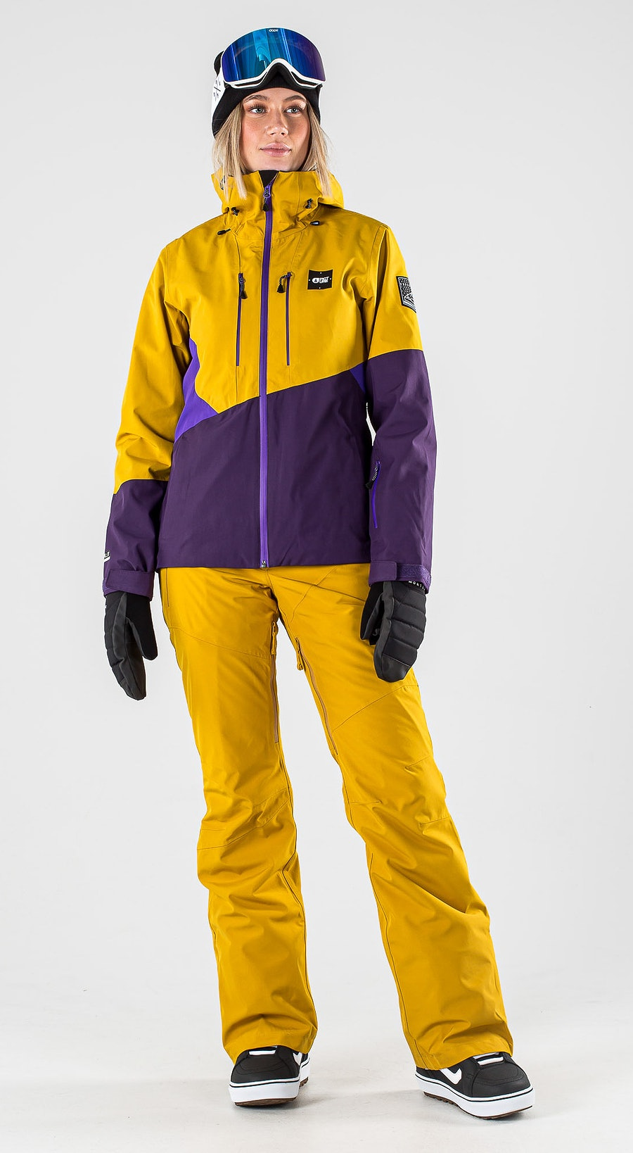 Picture Seen Safran Vêtements de Snowboard  Multi