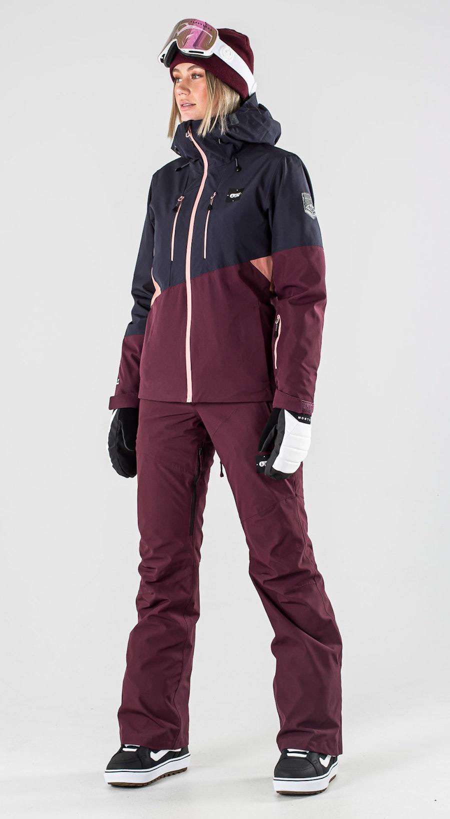 Picture Seen Dark Blue Snowboardkläder Multi