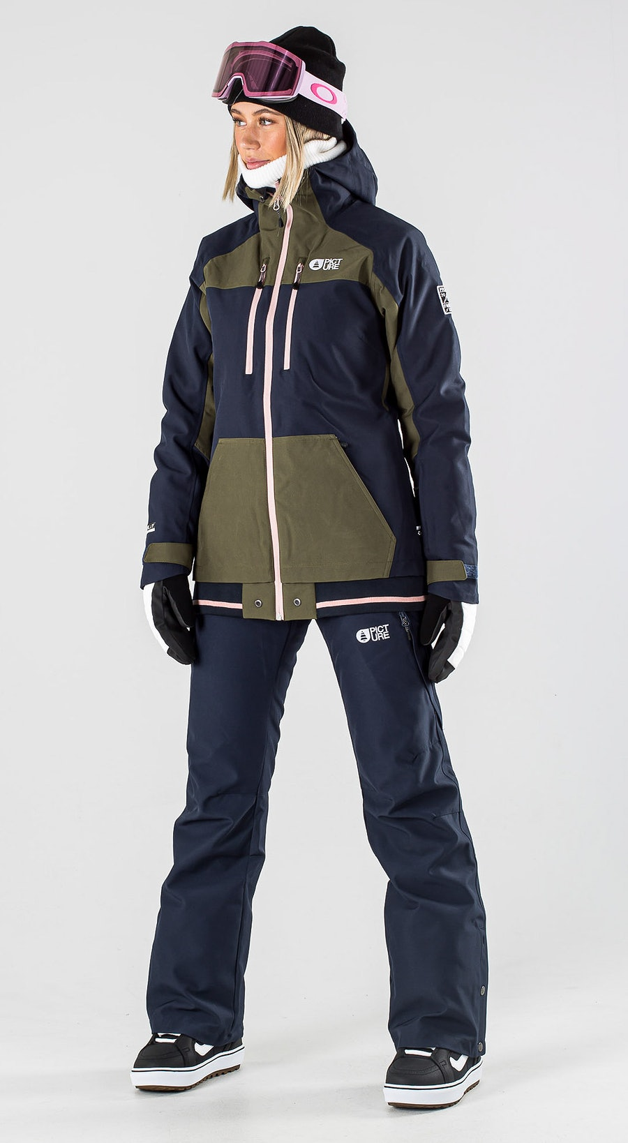 Picture Lander Army Green Vêtements de Snowboard  Multi