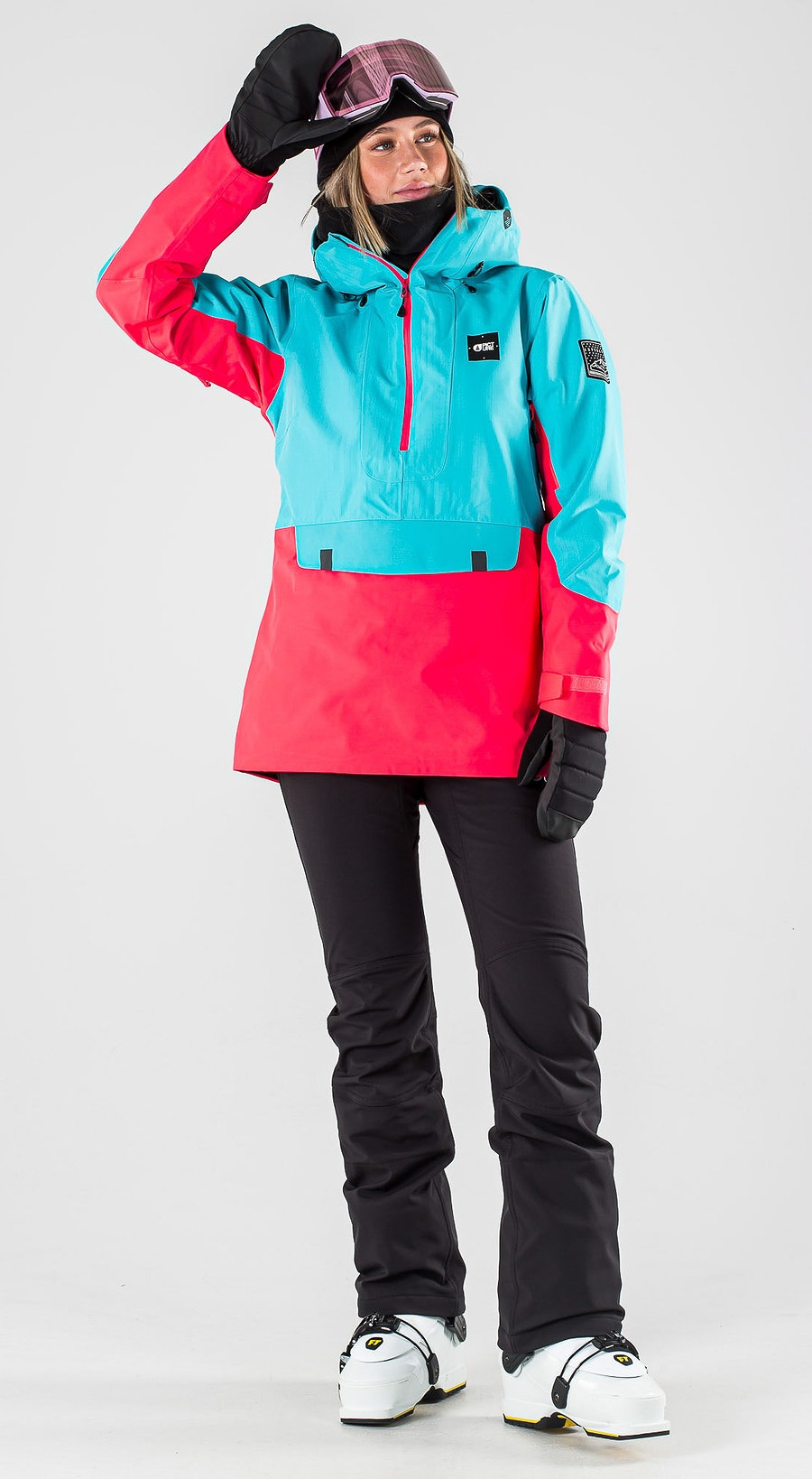 Picture Tanya Light Blue Pink Ski Clothing Multi