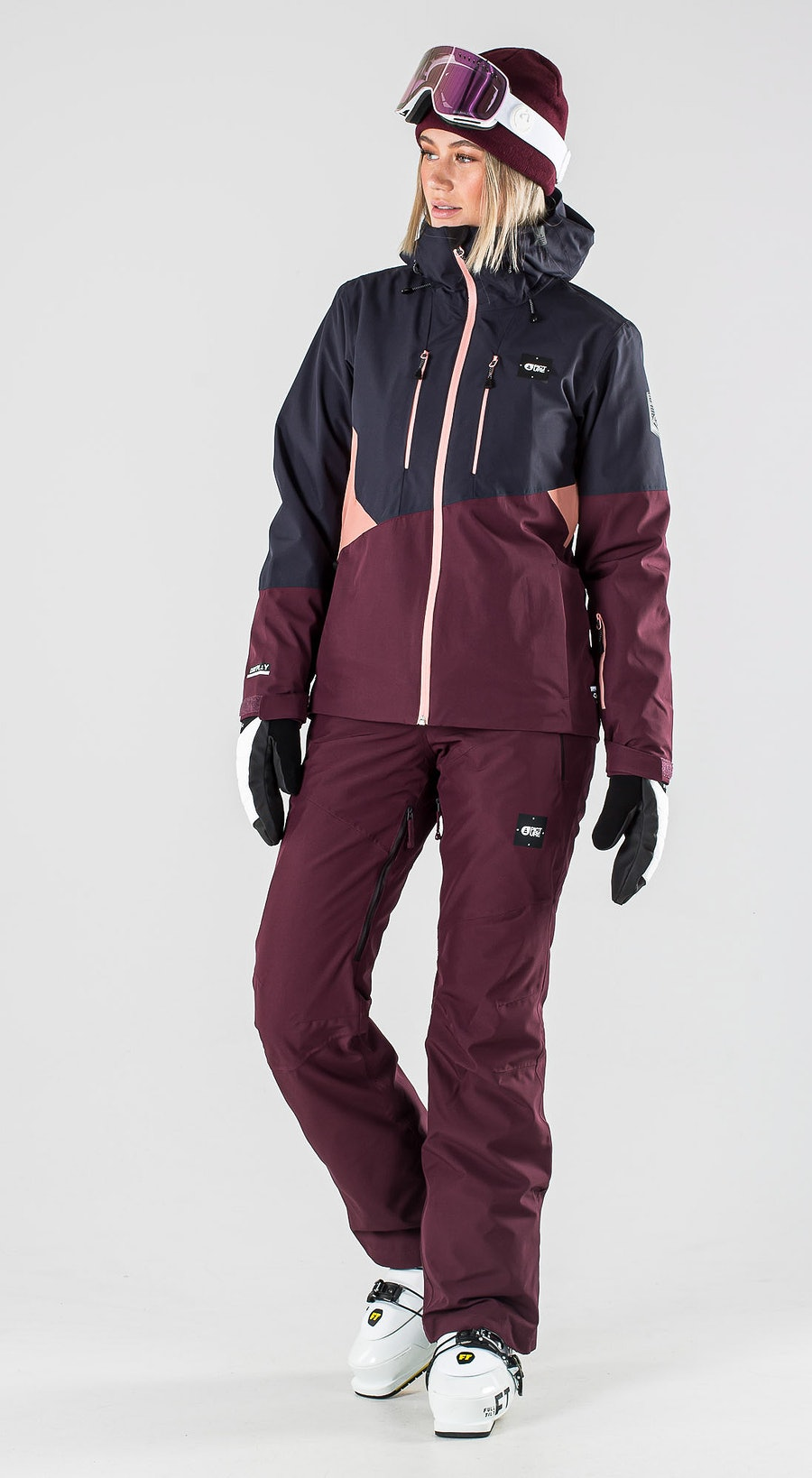 Picture Seen Dark Blue Ski Clothing Multi