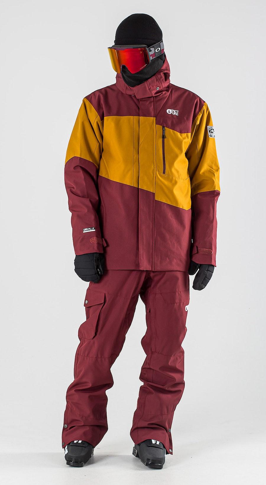 Picture Styler Camel Ketchup Ski kleding Multi