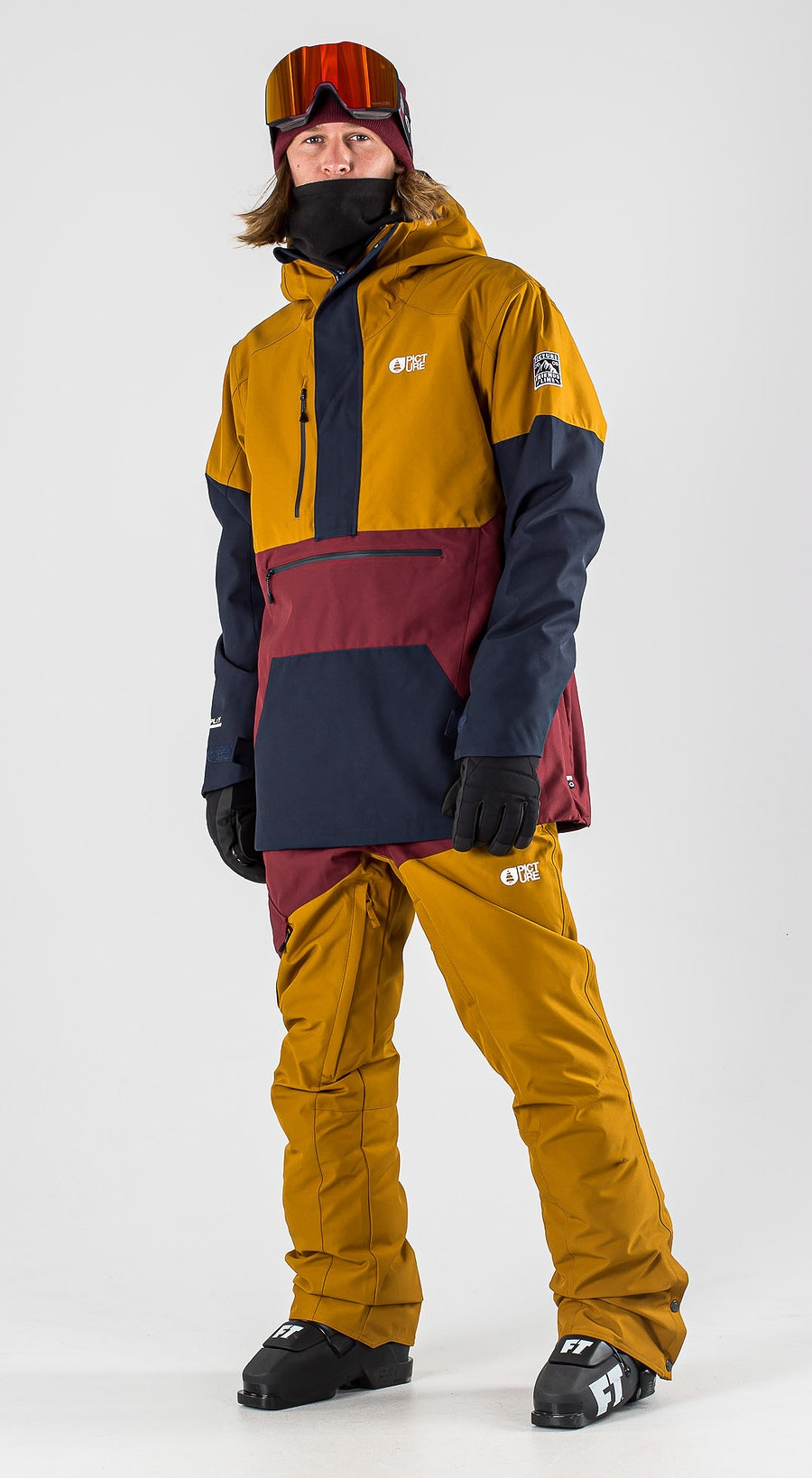 Picture Trifid Camel Dark Blue Vêtements de Ski Multi