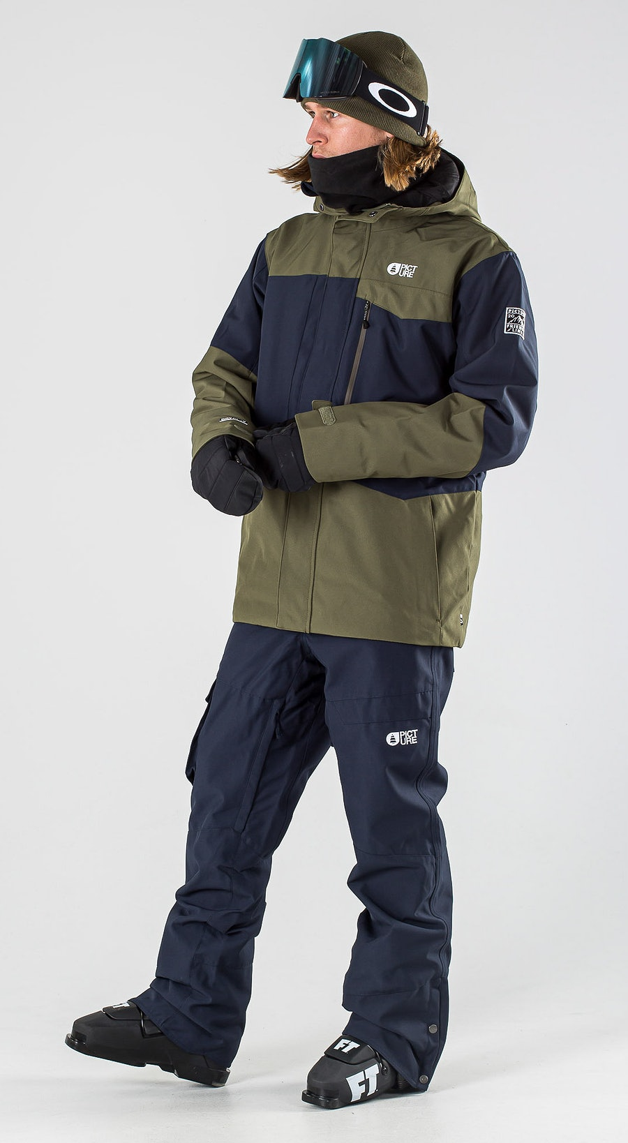 Picture Styler Dark Blue Army Green Ski kleding Multi
