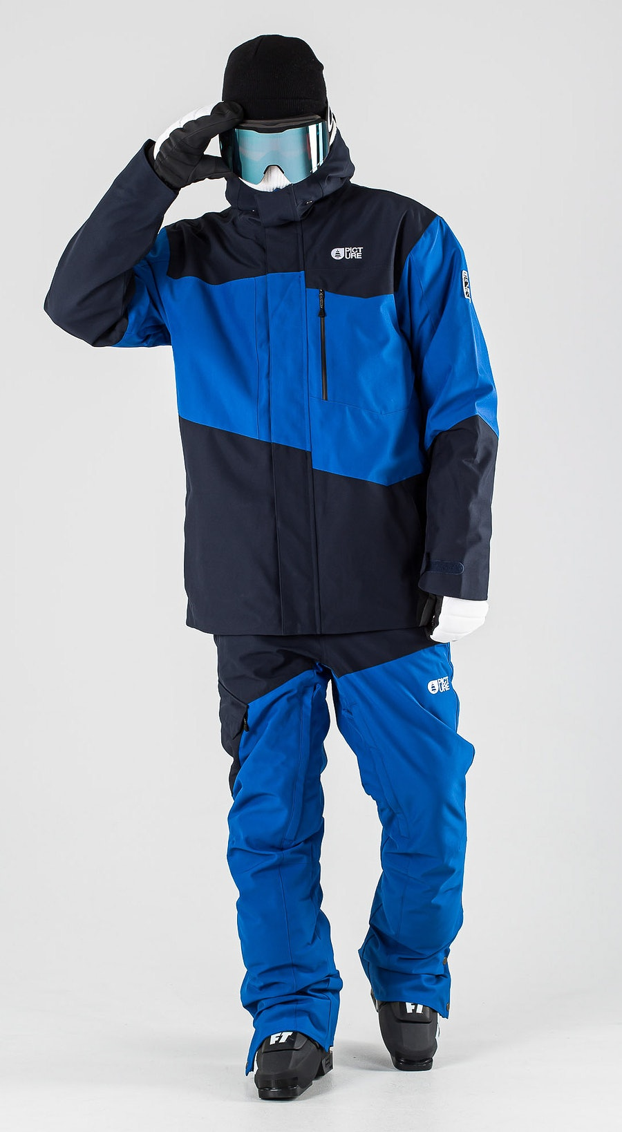 Picture Styler Blue Dark Blue Vêtements de Ski Multi
