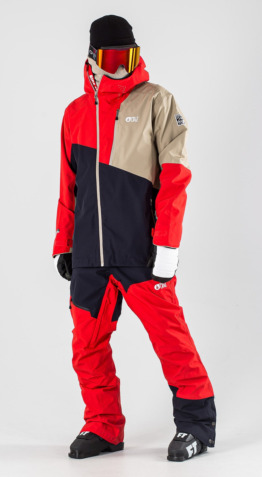 Picture Alpin Dark Blue Vêtements de Ski Multi