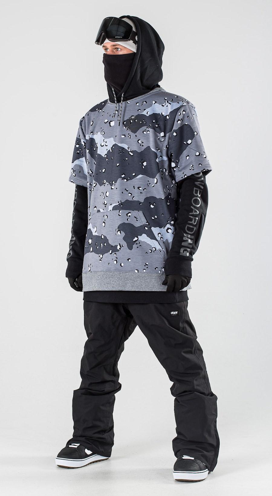 DC Dryden Black Vêtements de Snowboard  Multi