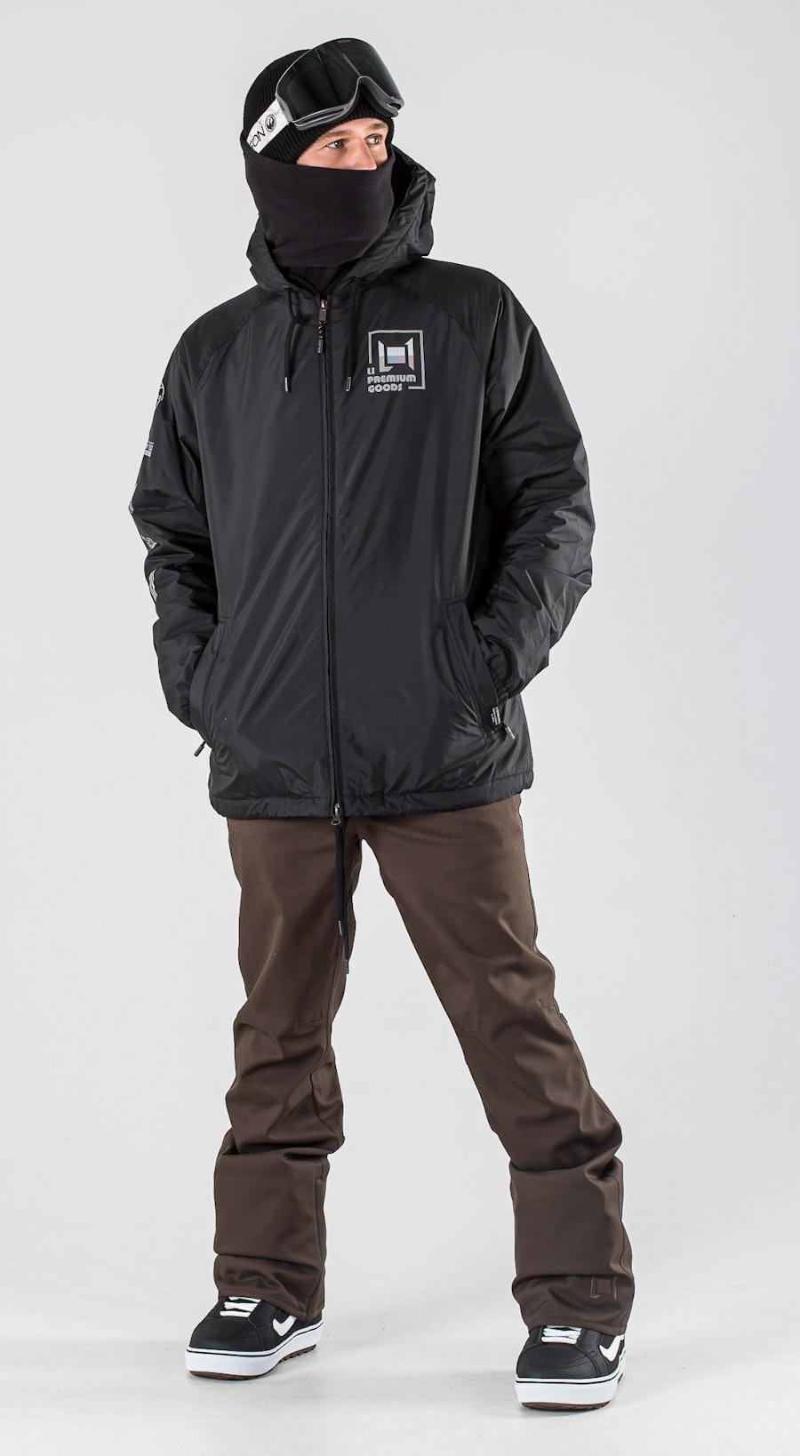 L1 Stooge Black Vêtements de Snowboard  Multi