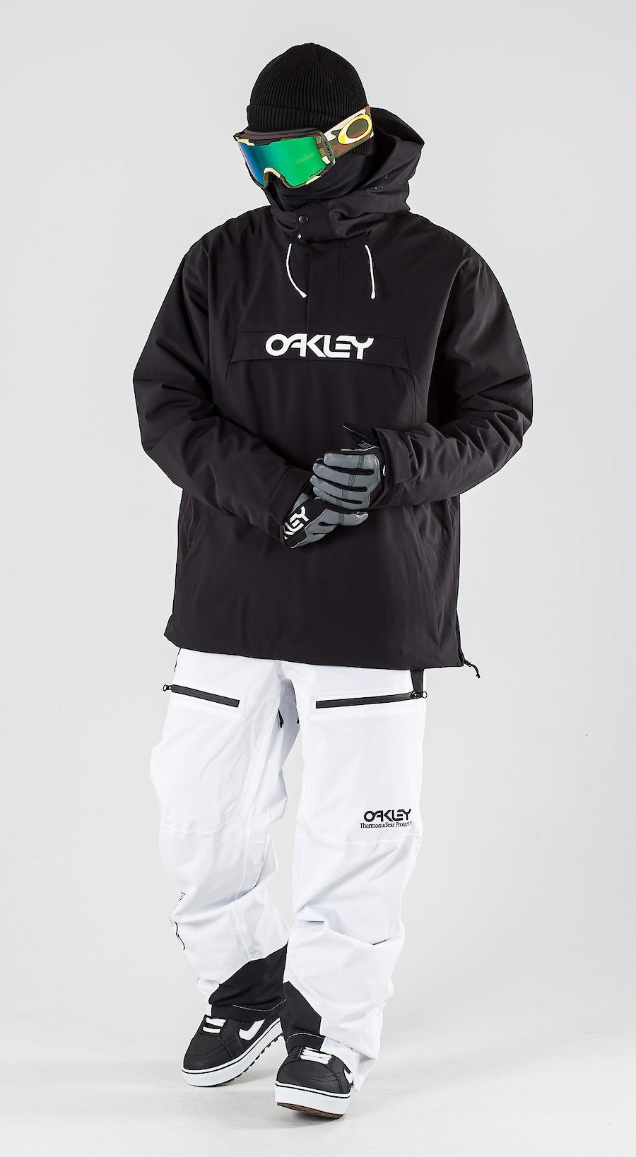Oakley Insulated Anorak Blackout Lumilautailuvaatteet Multi