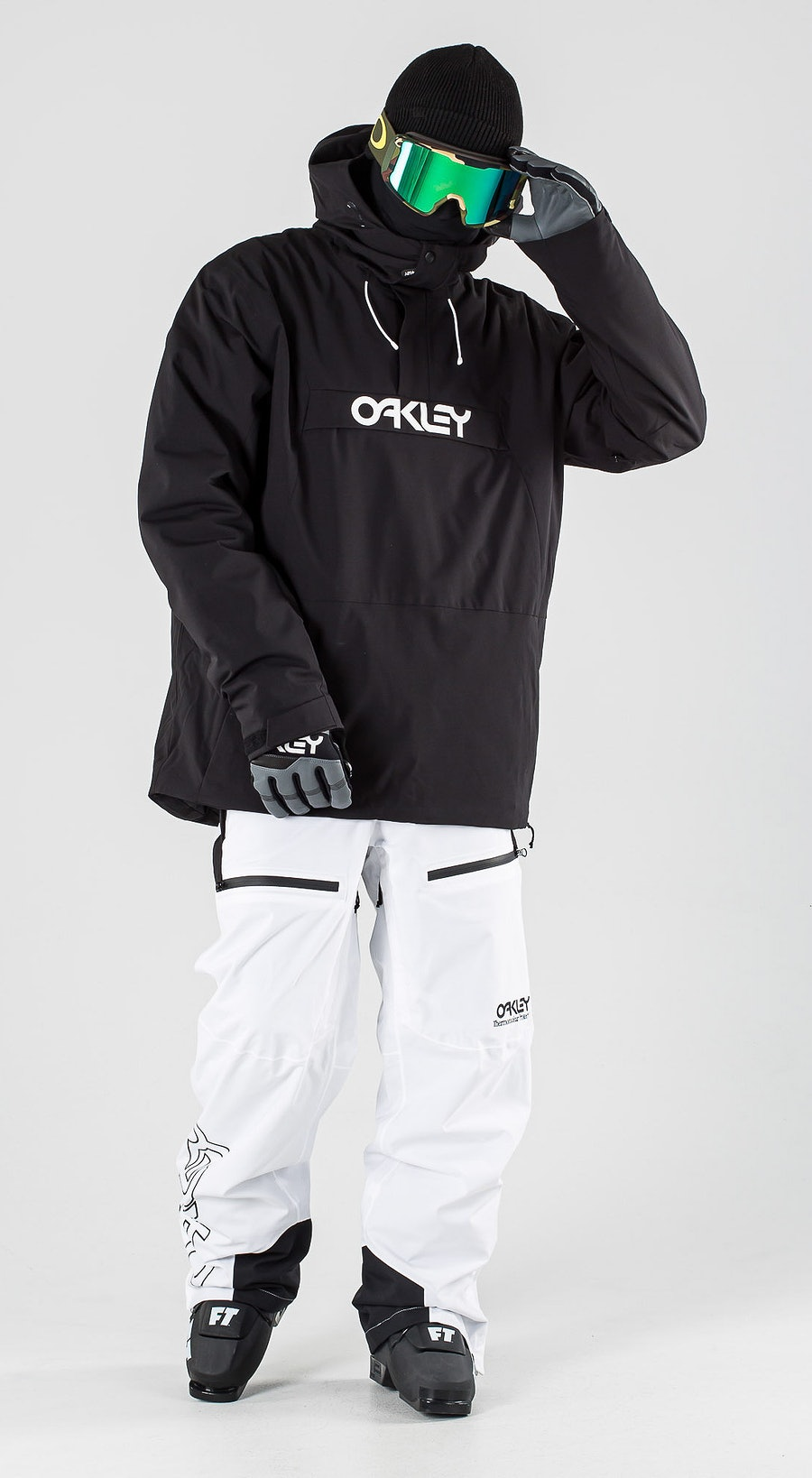 Oakley Insulated Anorak Blackout Skibekleidung Multi