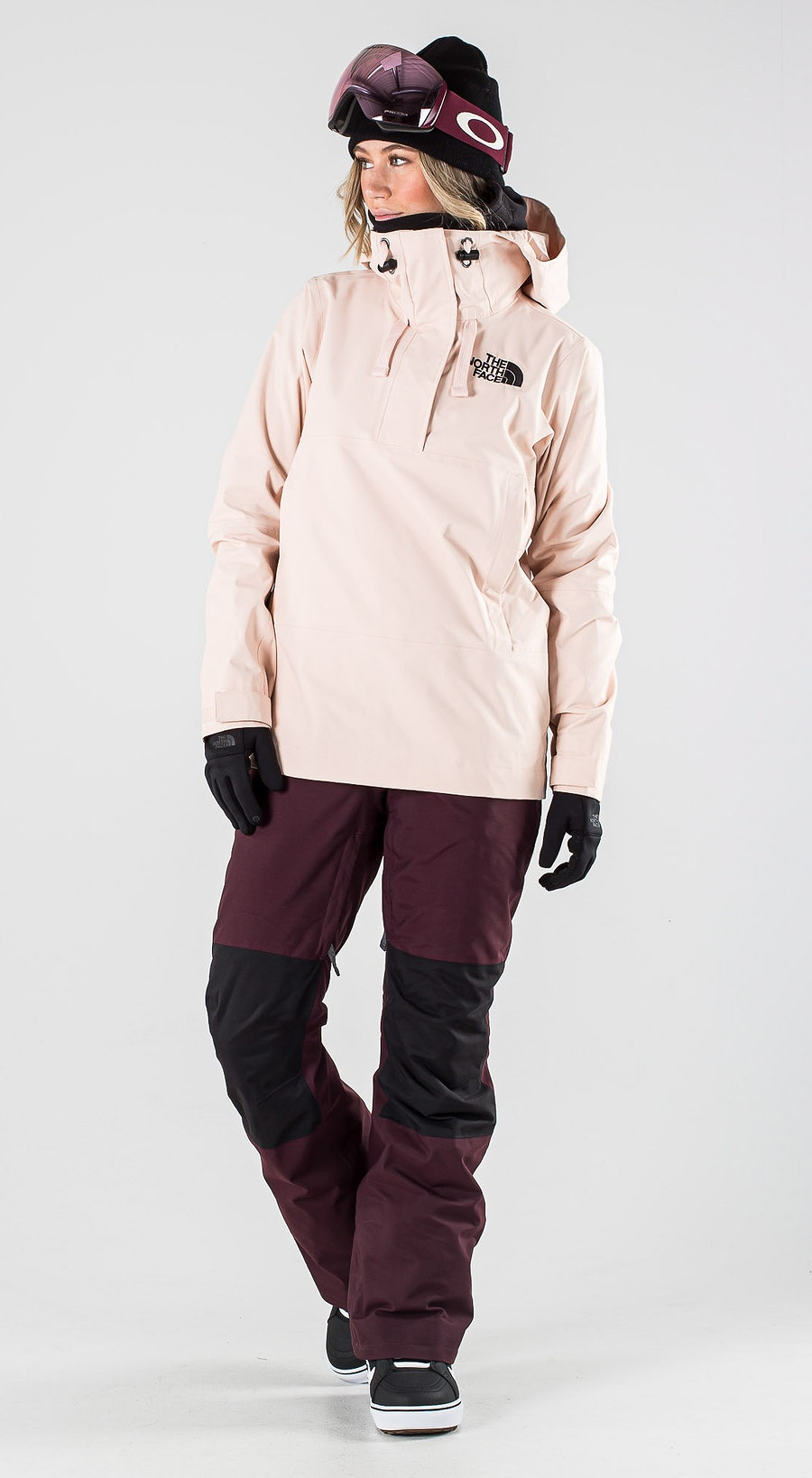 The North Face Tanager Morning Pink Vêtements de Snowboard  Multi