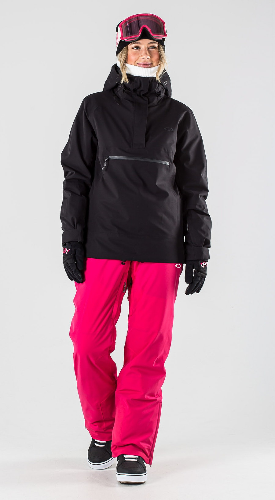 Oakley Iris Insulated Anorak Blackout Vêtements de Snowboard  Multi