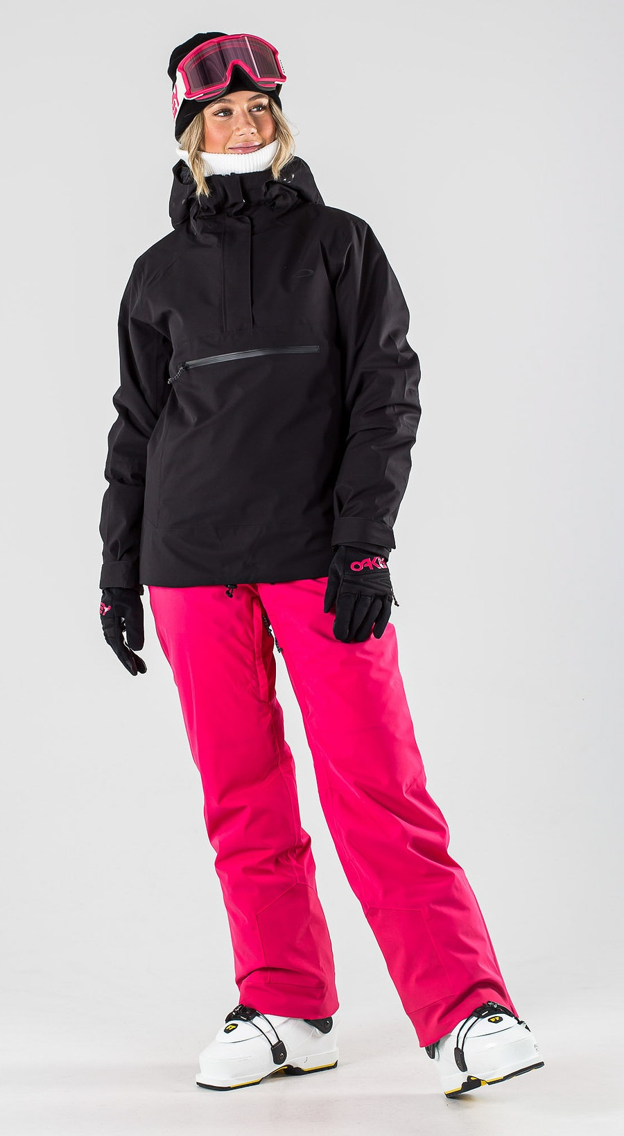 Oakley Iris Insulated Anorak Blackout Vêtements de Ski Multi