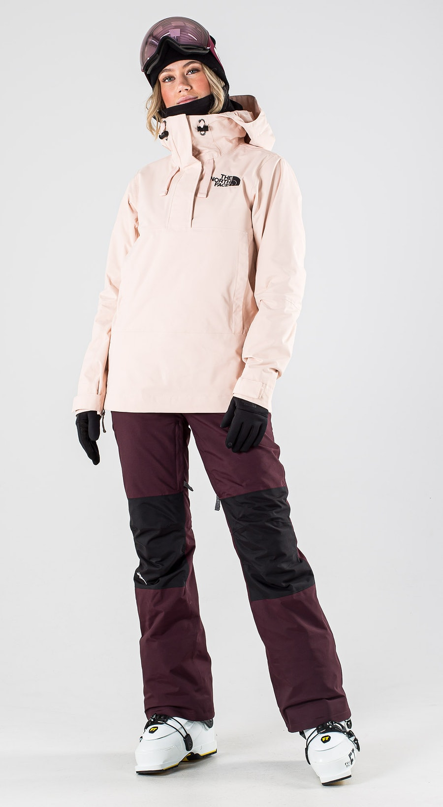 The North Face Tanager Morning Pink Ski Clothing Multi