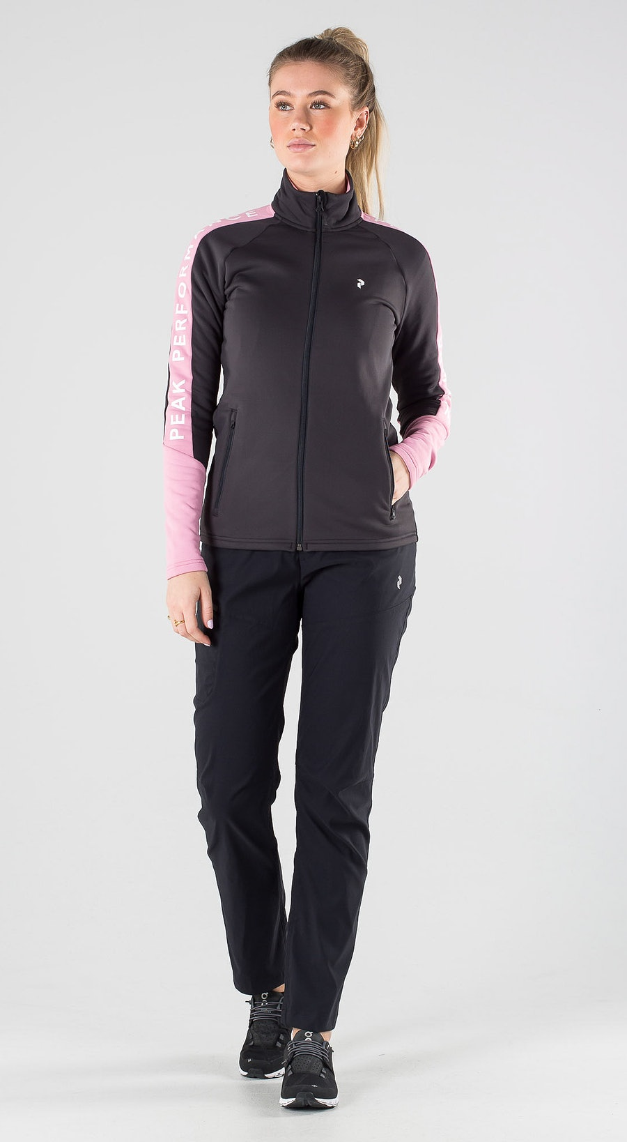Peak Performance Rider Zip Iron Cast Outfit Multi