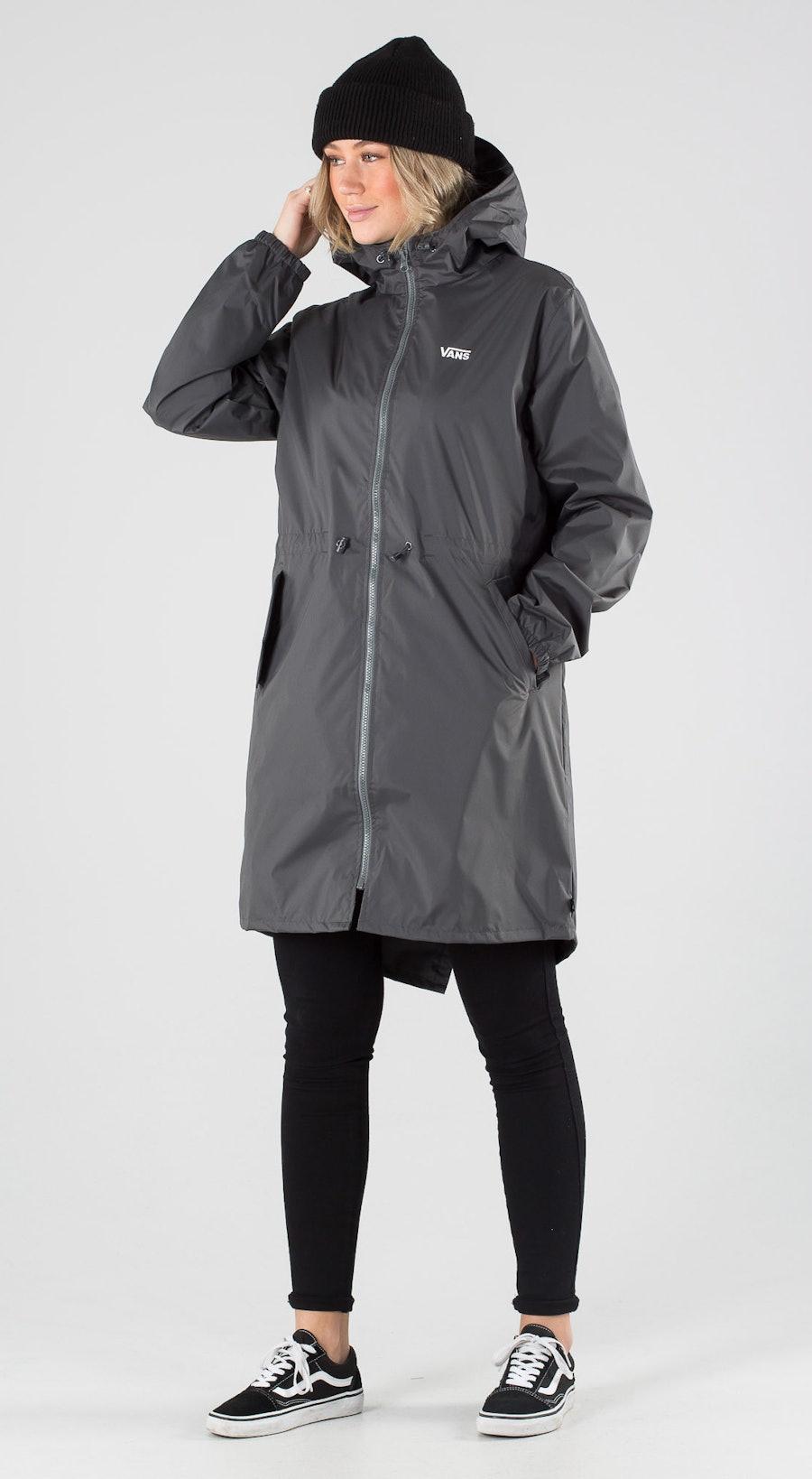Vans Kastle V Long Windbreaker MTE Asphalt Outfit Multi