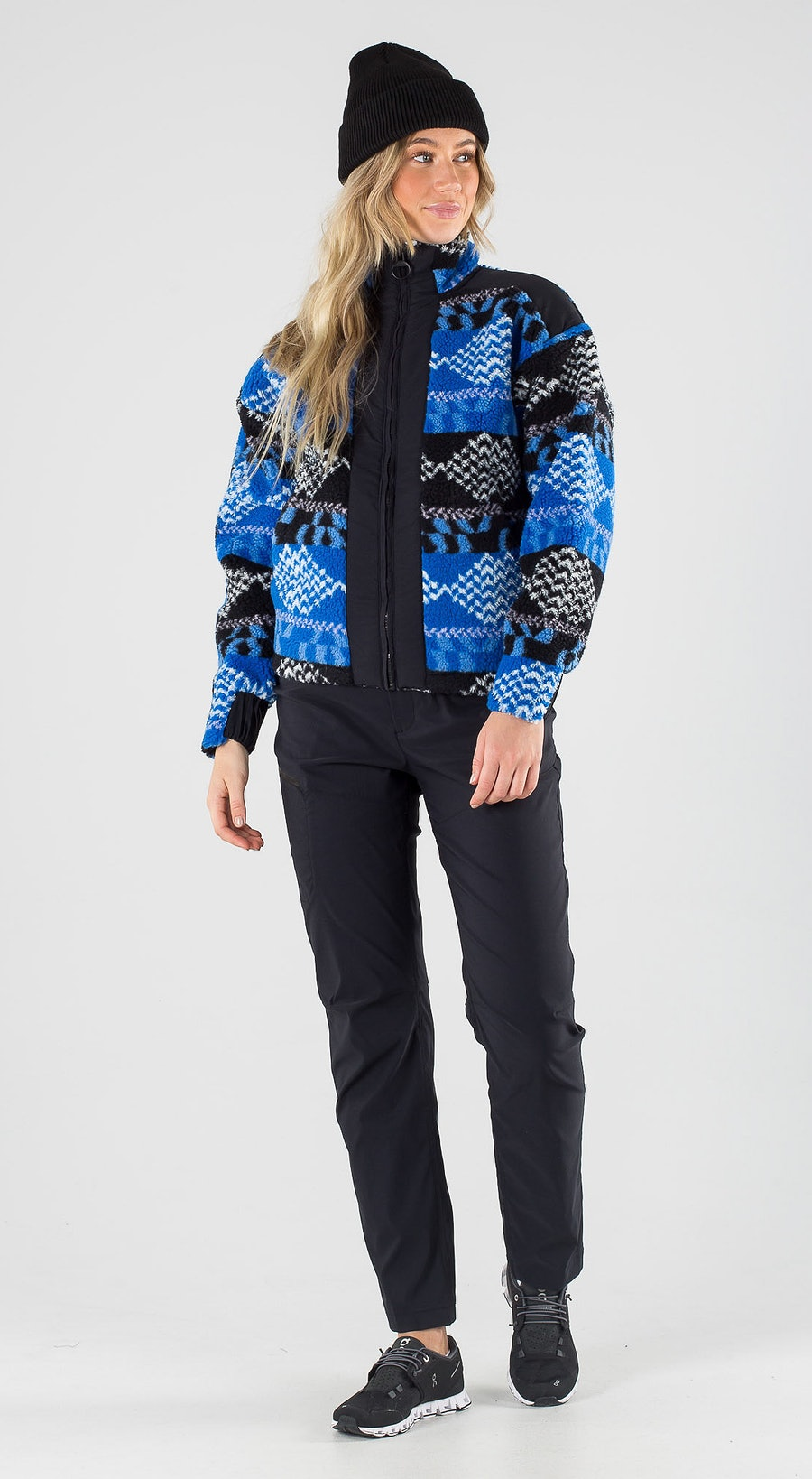 Peak Performance Original Pile Zip Pattern Outfit Multi