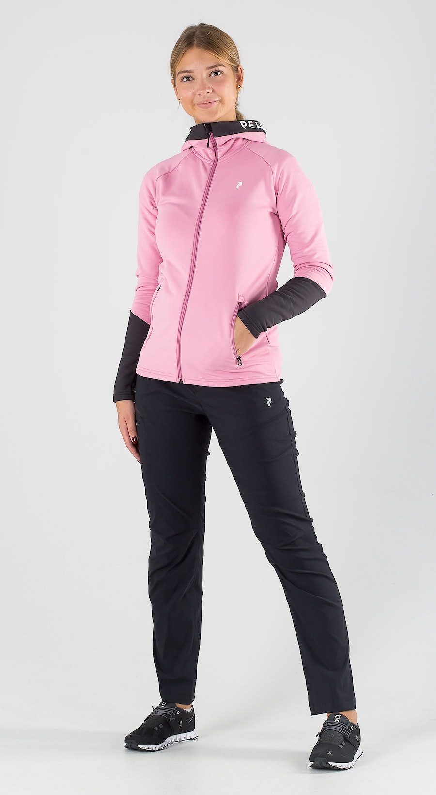 Peak Performance Rider Zip Frosty Rose Outfit Multi