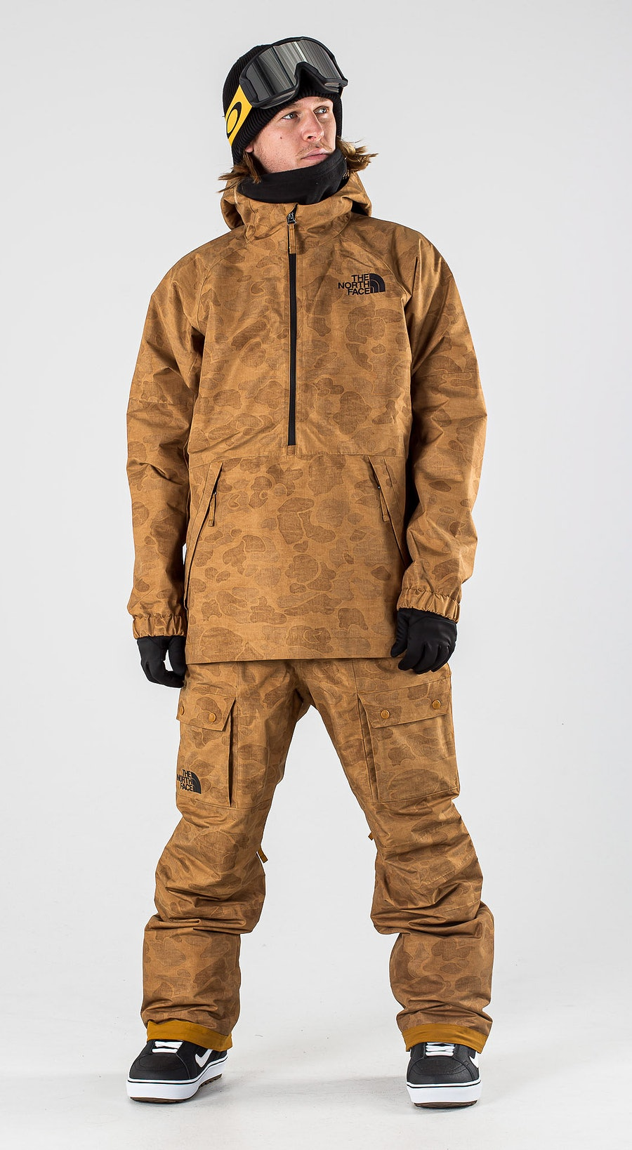 The North Face Up & Over Anorak Timbertantonalduckcamoprt Snowboardkläder Multi