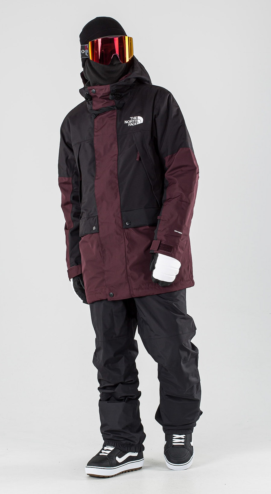 The North Face Goldmill Parka Root Brown/Tnf Black Snowboardkläder Multi