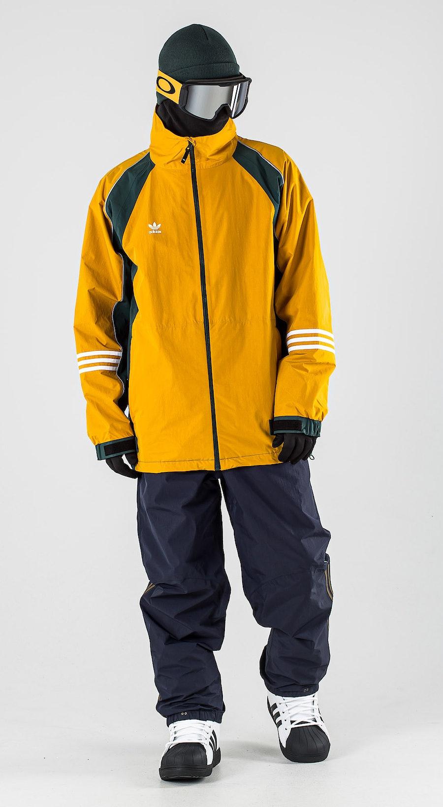 Adidas Snowboarding 10K DNA Legacy Gold/Mineral Grey/White Vêtements de Snowboard  Multi