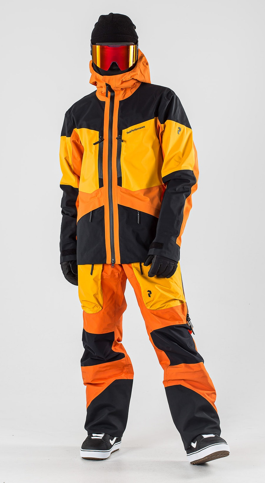 Peak Performance Gravity Orange Altitude Vêtements de Snowboard  Multi