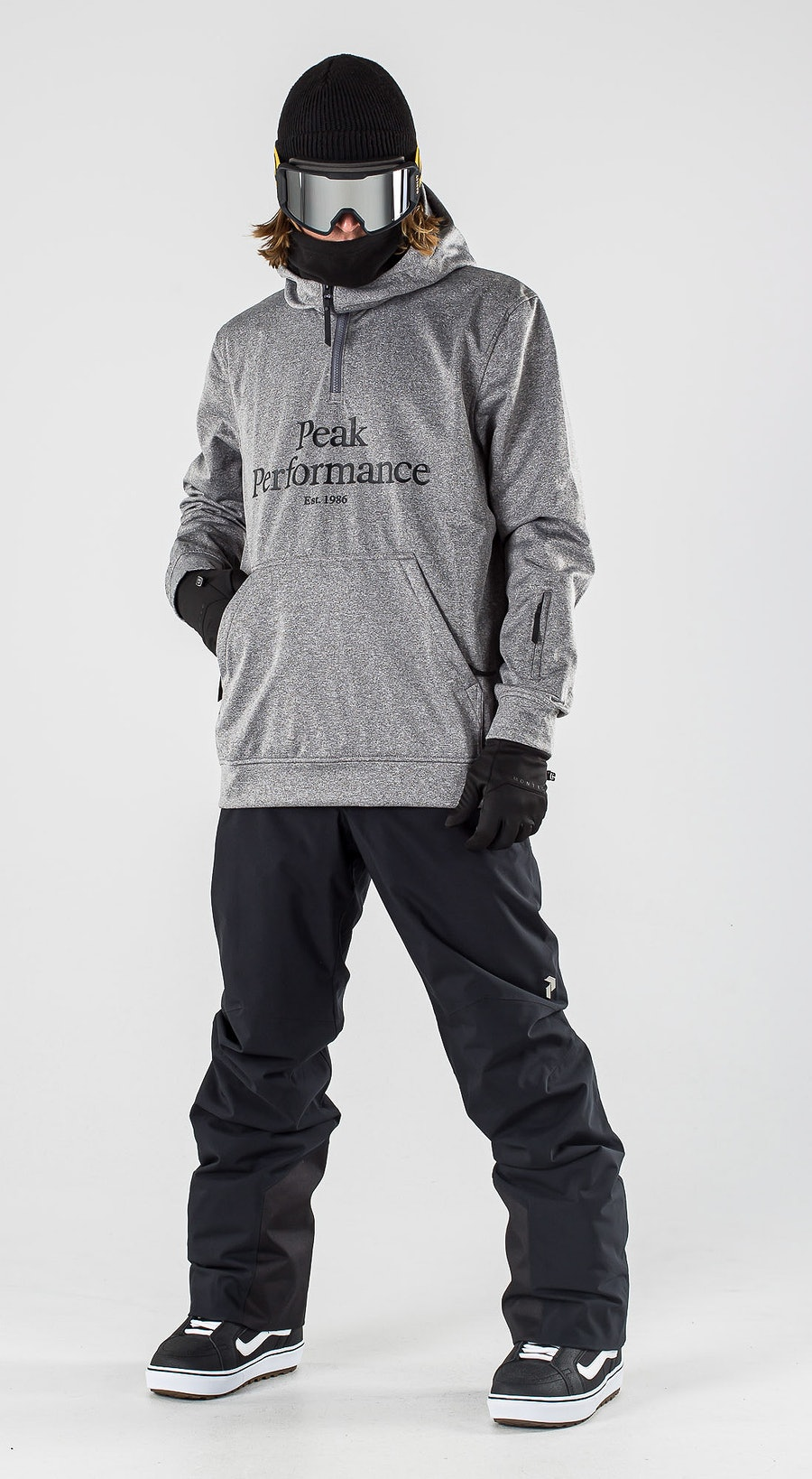 Peak Performance Original Ski SS Grey melange Snowboardkläder Multi