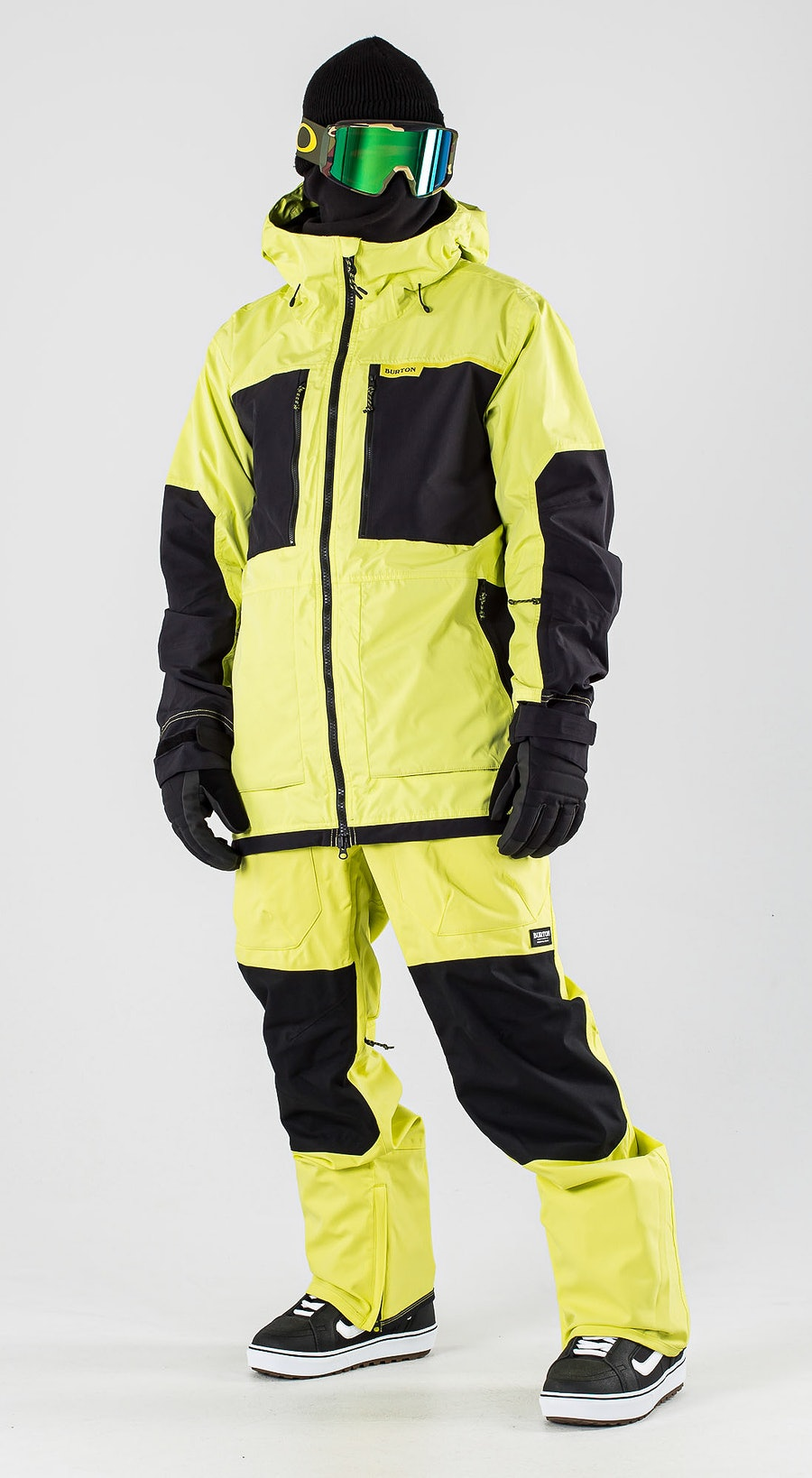 Burton Frostner Limade/True Black Vêtements de Snowboard  Multi