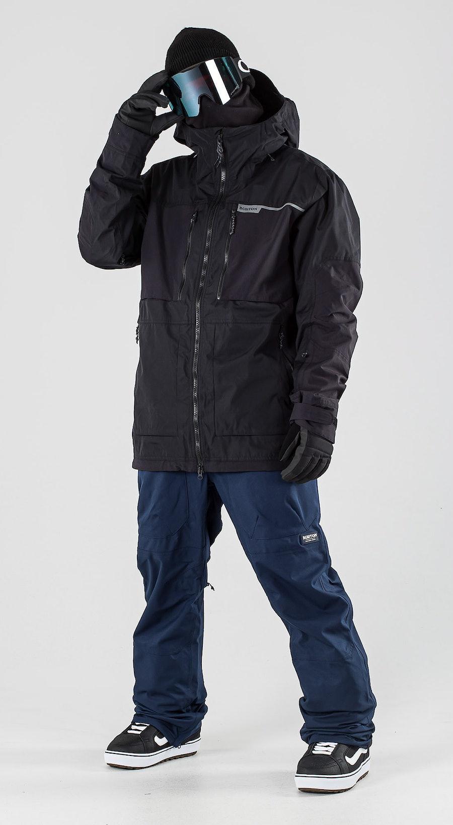 Burton Frostner True Black Vêtements de Snowboard  Multi