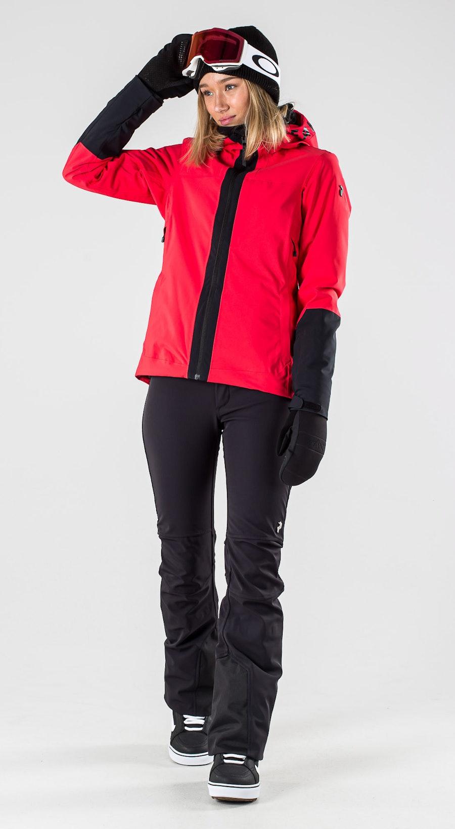 Peak Performance Rider Polar Red Lumilautailuvaatteet Multi