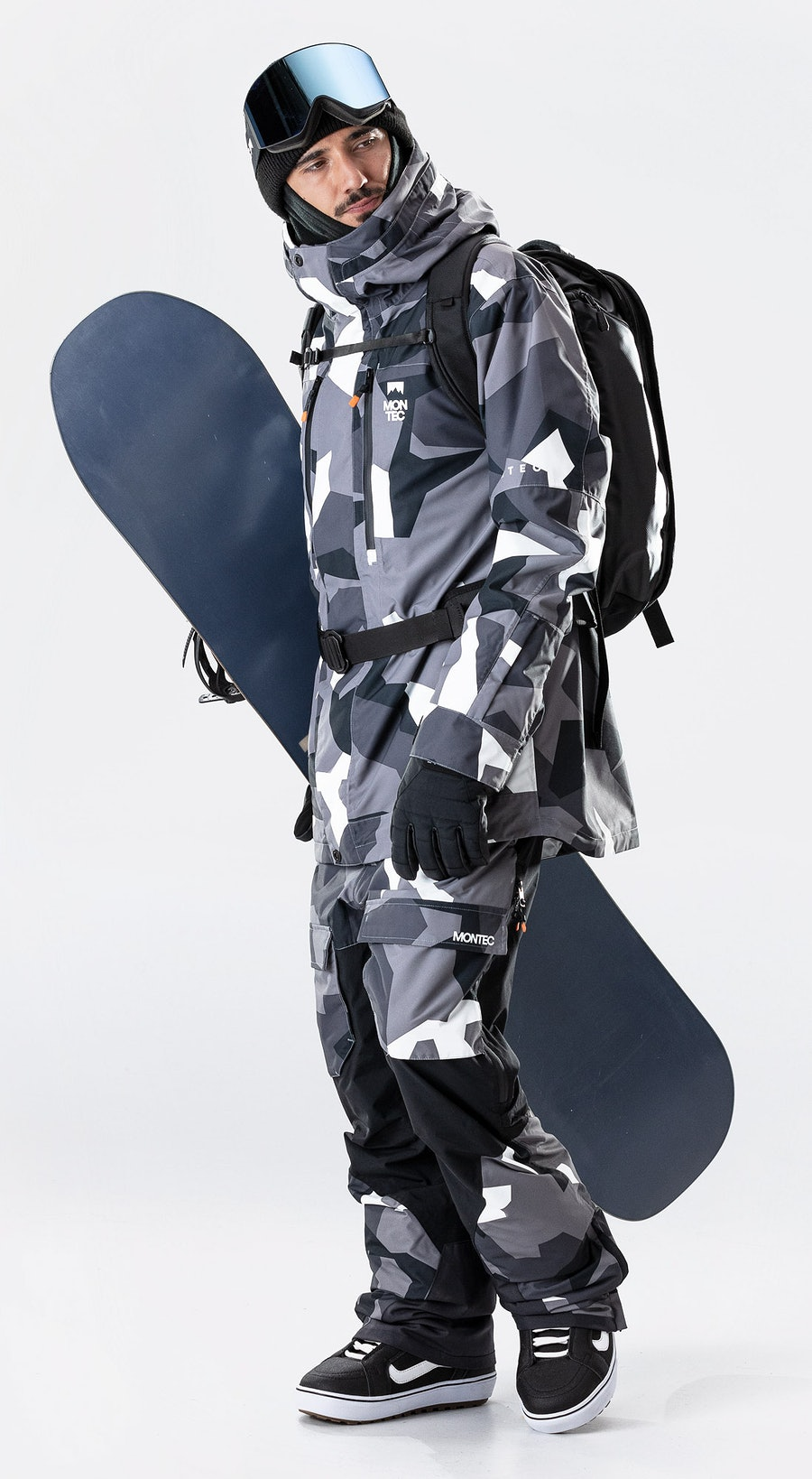 Montec Fawk Arctic Camo Vêtements de Snowboard  Multi