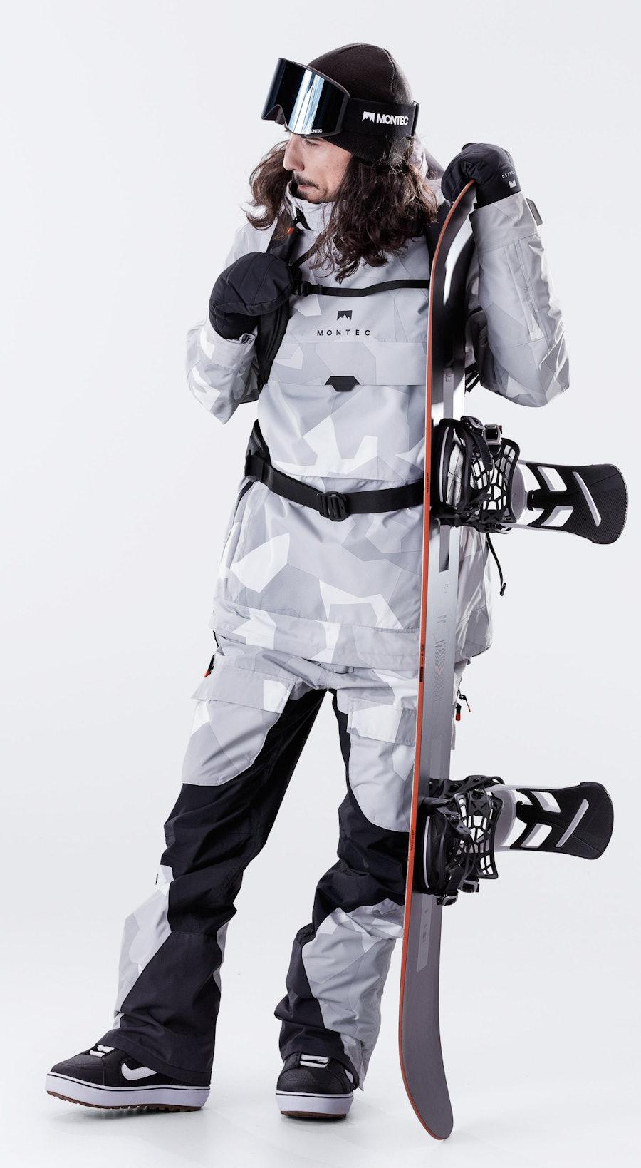 Montec Dune Snow Camo Vêtements de Snowboard  Multi