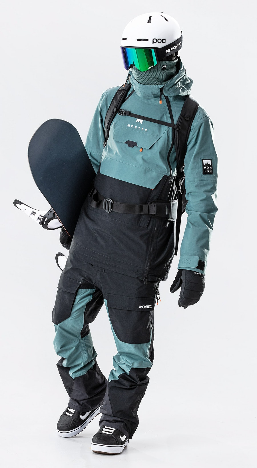 Montec Doom Atlantic/Black Snowboardkleidung Multi