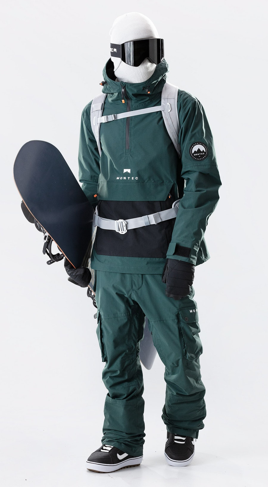 Montec Typhoon Dark Atlantic/Black Snowboardkleidung Multi