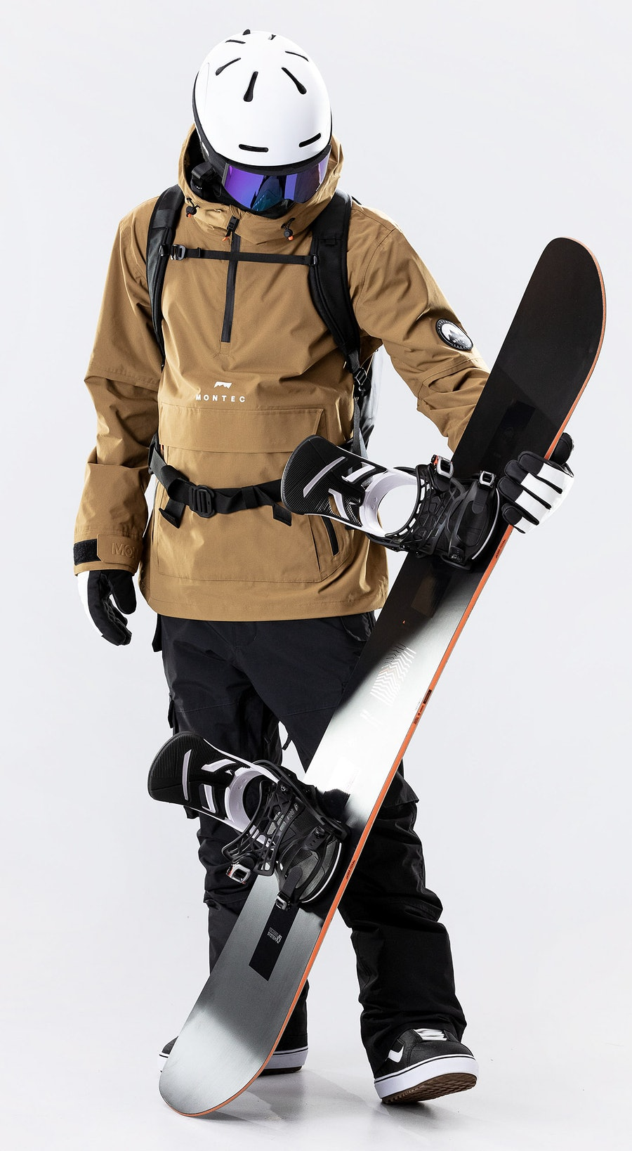 Montec Typhoon Gold Vêtements de Snowboard  Multi