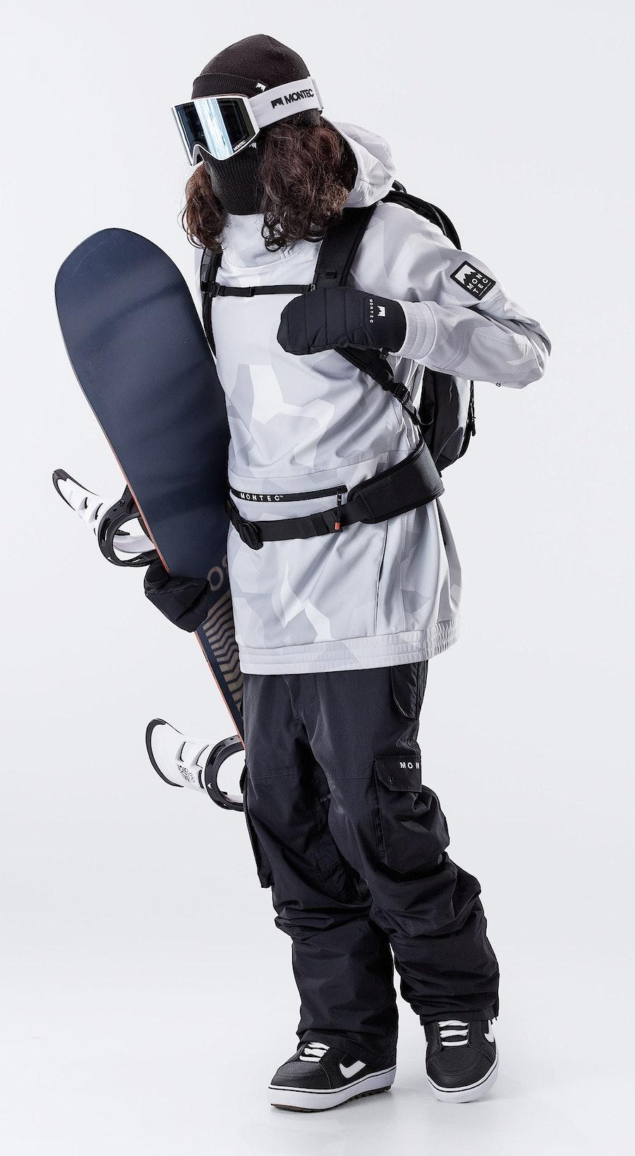 Montec Tempest Snow Camo Vêtements de Snowboard  Multi