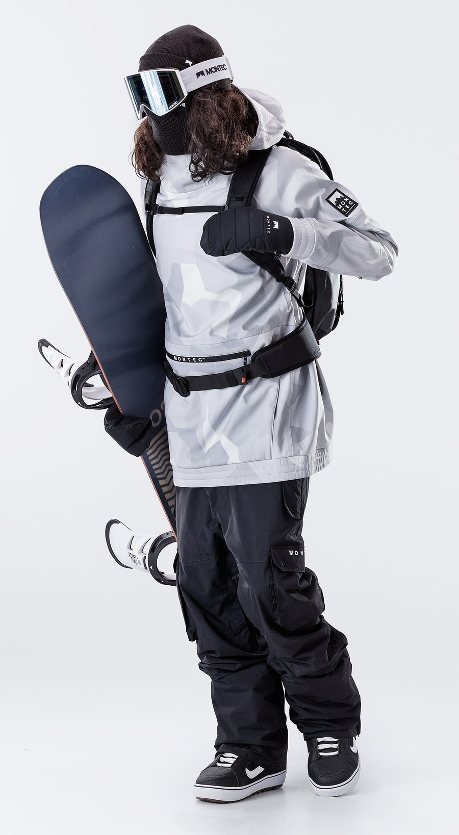 Montec Tempest Snow Camo Snowboard clothing Multi