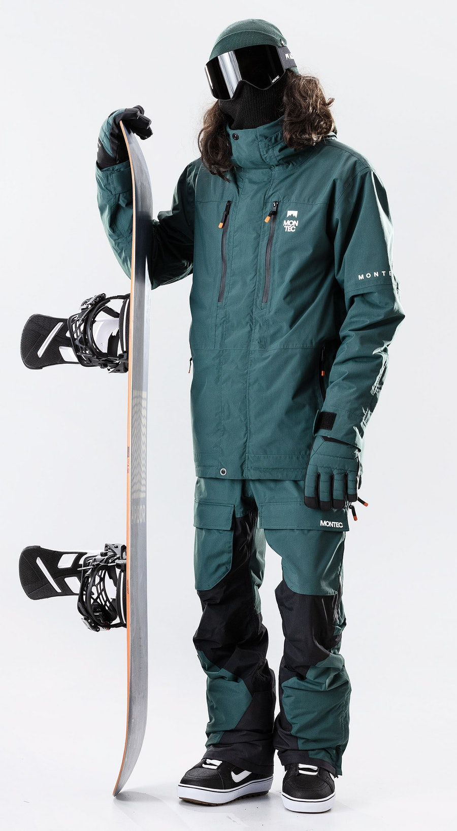 Montec Fawk Dark Atlantic Vêtements de Snowboard  Multi