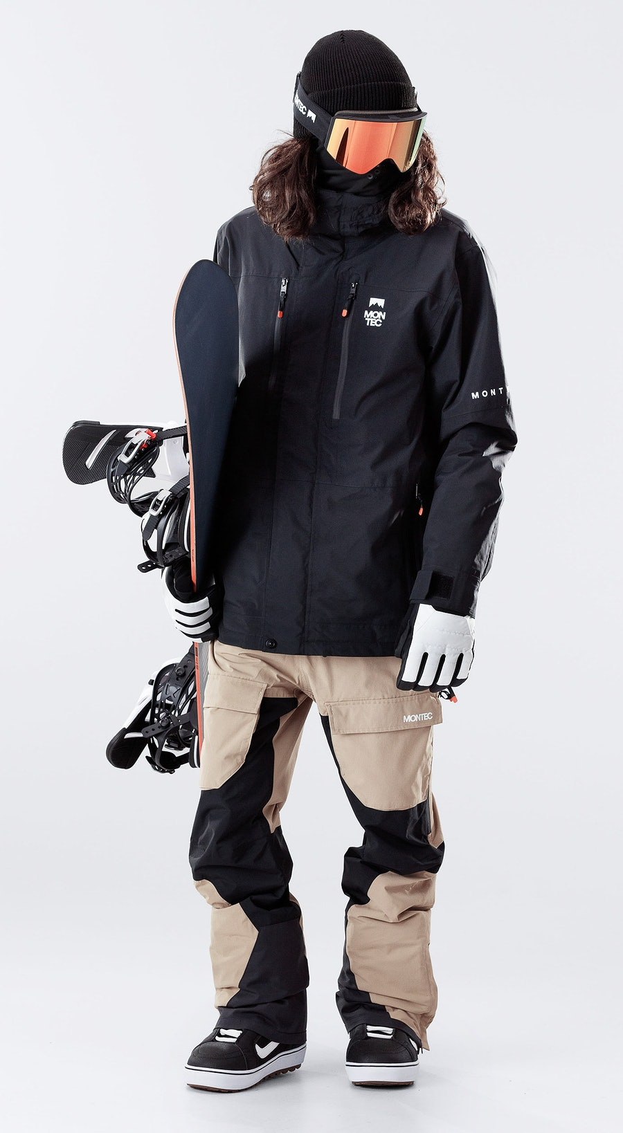 Montec Fawk Black Vêtements de Snowboard  Multi