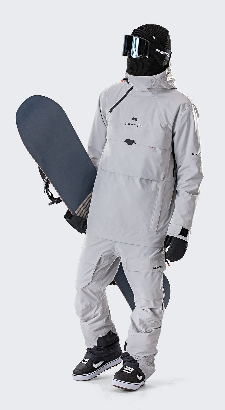 Montec Dune Light Grey Snowboardkleidung Multi