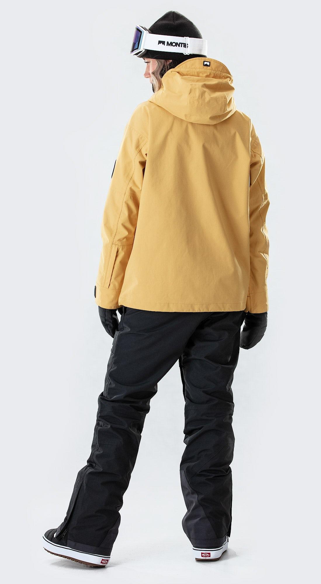 Montec Typhoon W Yellow