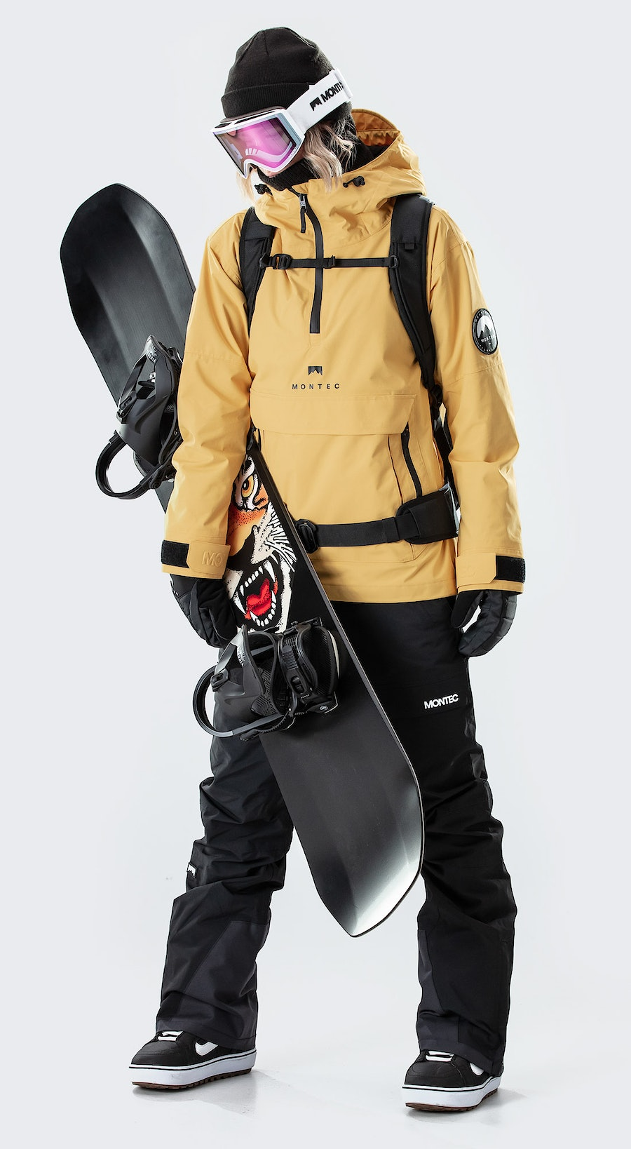 Montec Typhoon W Yellow Vêtements de Snowboard  Multi