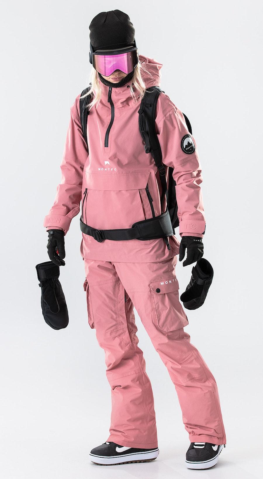 Montec Typhoon W Pink Lumilautailuvaatteet Multi